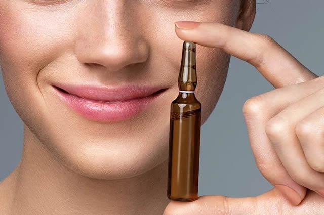 ¿Qué son las ampollas cosméticas?